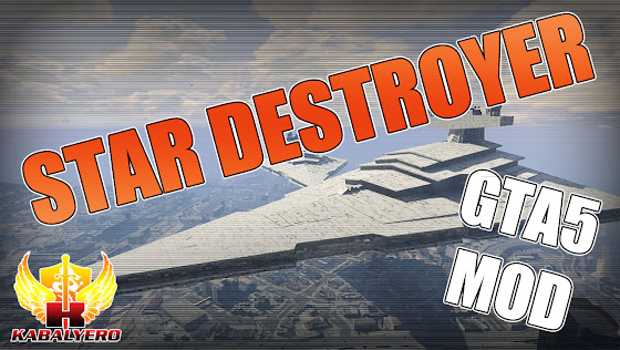 Star Wars: Imperial Star Destroyer Invades Grand Theft Auto 5 ★ New GTA 5 Mod