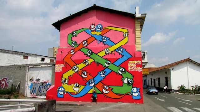 """Amor Por Colombia"" New Urban Art Mural For Street Kills Festival In Santiago De Cali, Colombia. 5"