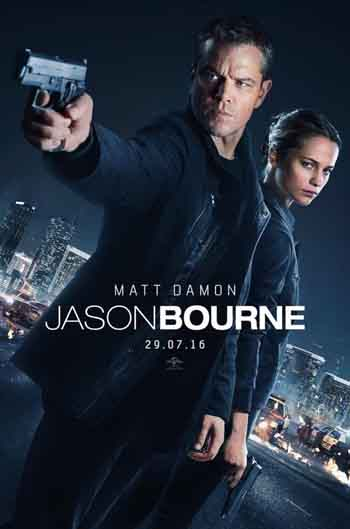 Jason Bourne 2016 480p 400MB BRRip Dual Audio