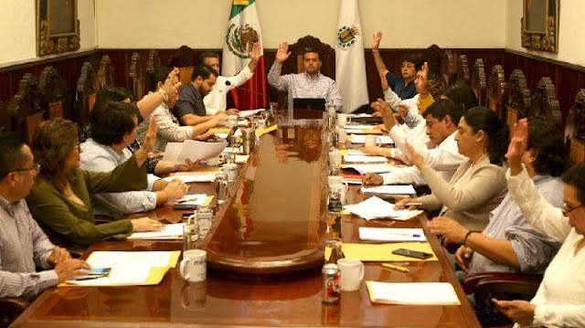 Regidores del PRI y Morena exponen a Barrera Concha los fracasos de seis años de administración