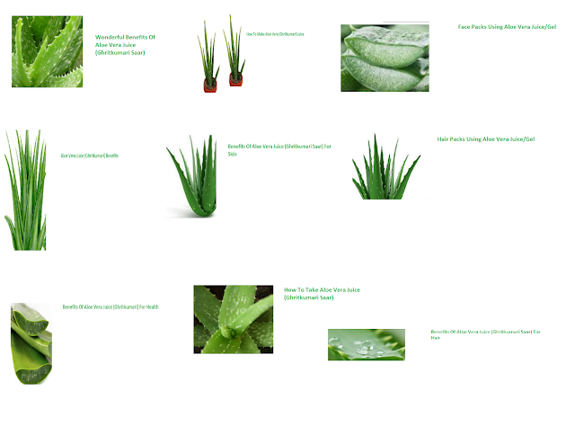 Wonderful Benefits Of Aloe Vera Juice (Ghritkumari Saar)