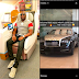 Mompha reignites feud with Hushpuppi... buys N150 million Rolls Royce Wraith then shades Hushpuppi