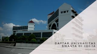 Daftar Universitas Swasta di Jogja