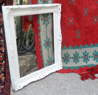 Marco sobre alfombras en Sajazarra