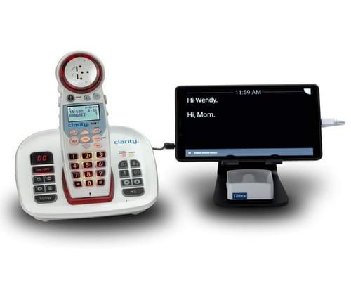 Clarity XLC8-GLT Captioning Telephone System