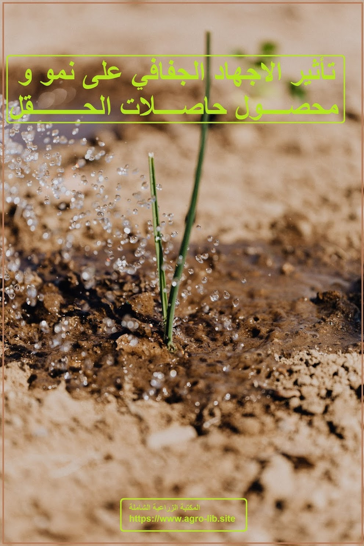 كتاب : تأثير الاجهاد الجفافي على نمو و محصول حاصلات الحقل