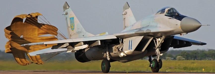 Повітряні Сили придбали гальмівні парашути для МіГ-29