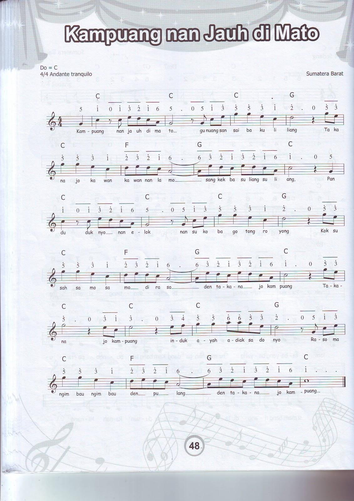 my ² world ∩⌂∩: Lagu Daerah