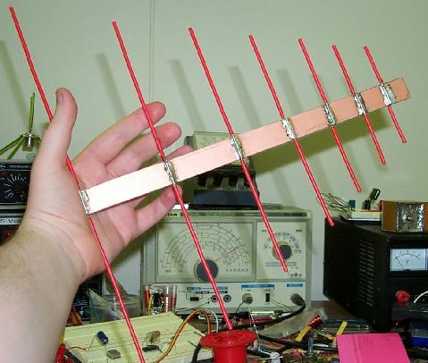 dc7hs on air logarithmisch periodische antenne. Black Bedroom Furniture Sets. Home Design Ideas