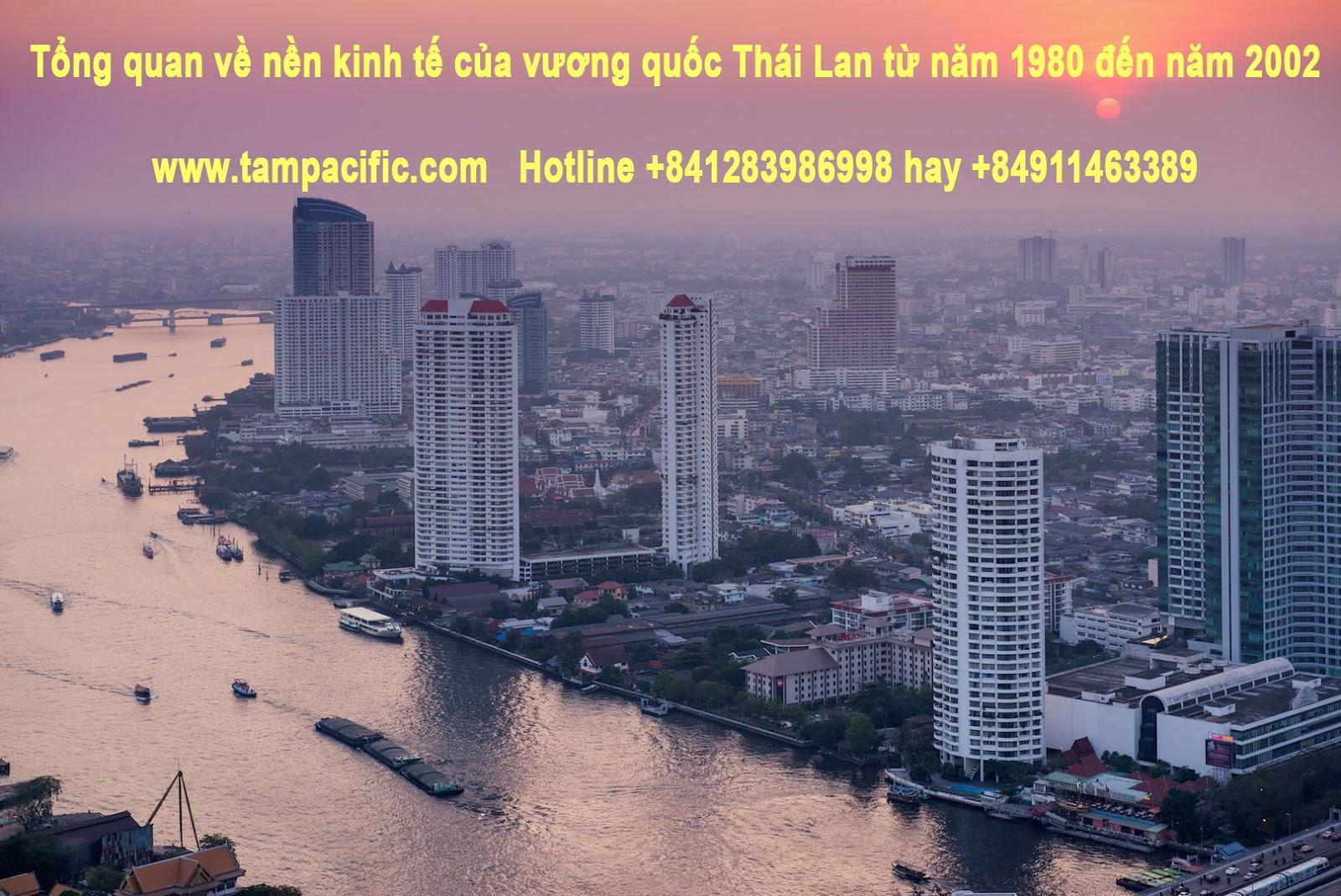 Tổng quan về nền kinh tế của vương quốc Thái Lan