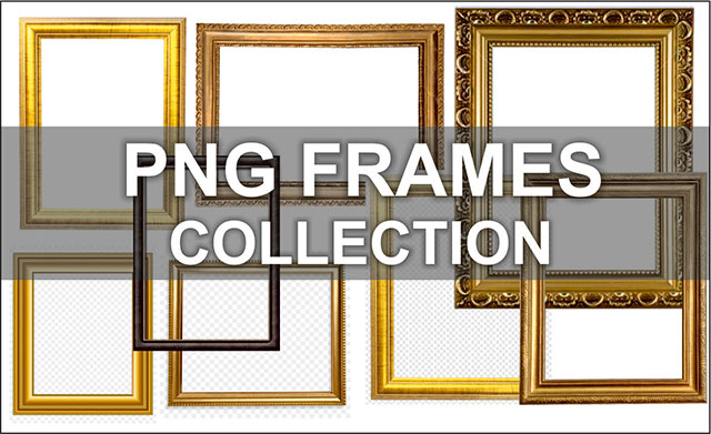 30+ Best PNG Frames Collection Free Download