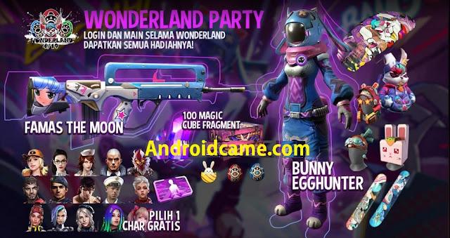 Halaman Free Fire Memberikan Hadiah Gratis Pada Event Wonderland, Ikuti Caranya