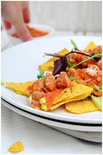 Quesadillas de pollo- Tinga de pollo con chorizo y chipotle - Fácil- Enchiladas de longaniza. Receta mexicana fácil-
