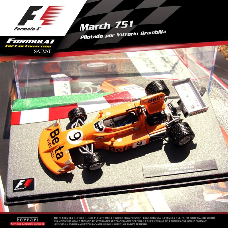 F 243 Rmula 1 The Car Collection 1 43 Salvat En Argentina