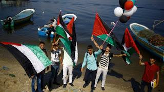 """""""Zejtúna"""" yachtot, fedélzetén 13 palesztin-aktivista nővel"""