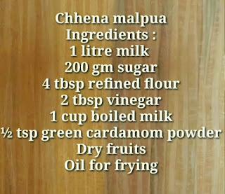 An easy process to make chhena Malpua.
