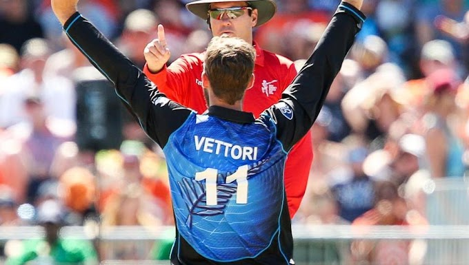 New Zealand retires Daniel Vettori's ODI jersey number 11