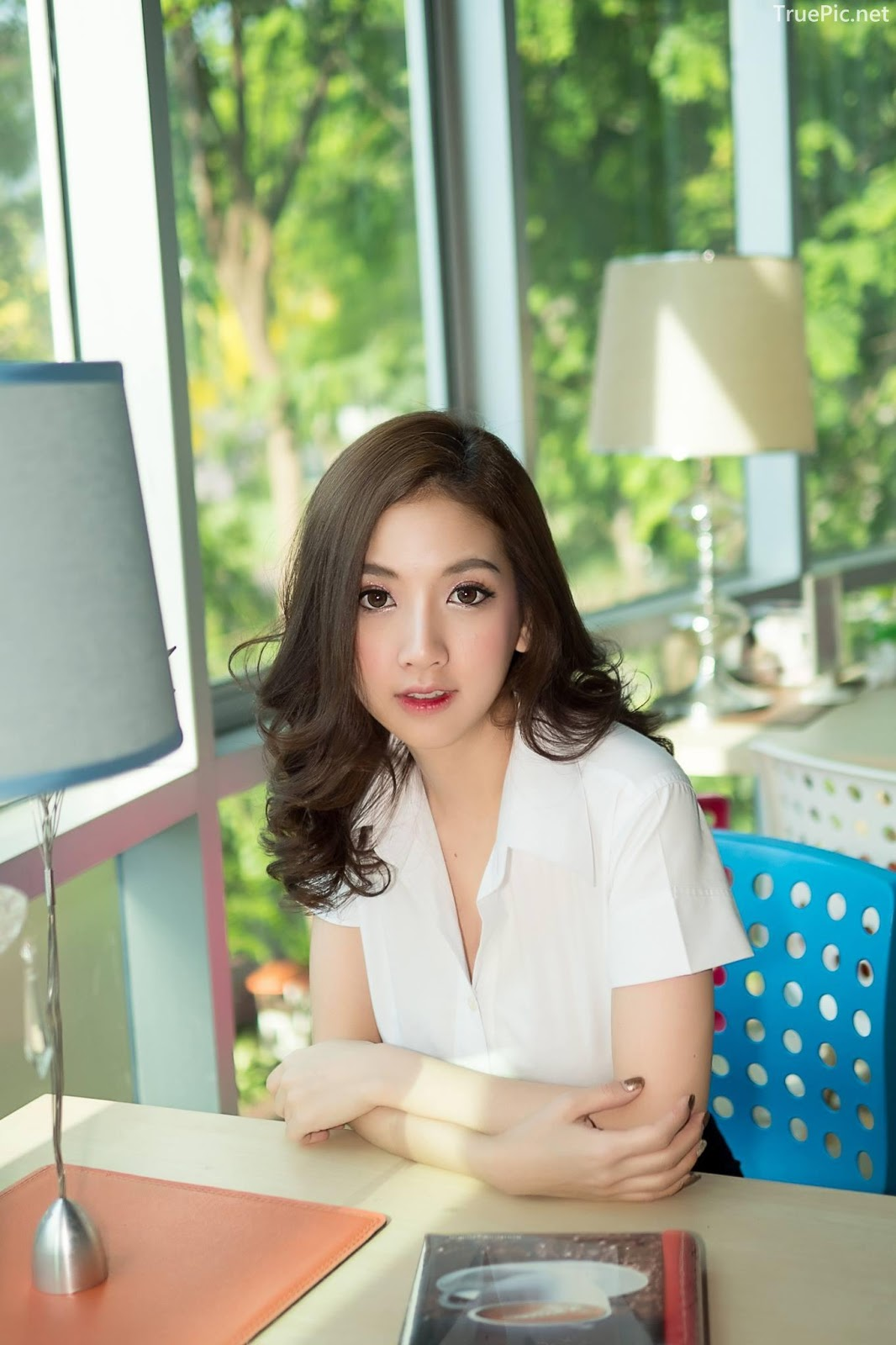 Thailand model - Yingaon Duangporn - Concept The Beautiful Office Girl - Picture 8