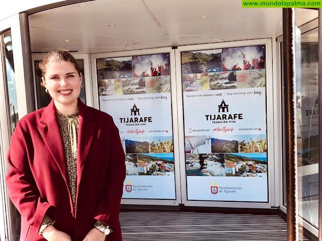 Tijarafe continúa promocionándose en el aeropuerto de La Palma