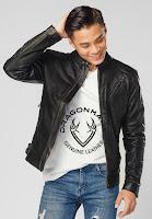 áo khoác da nam hàng hiệu