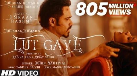 Lut Gaye Lyrics in Hindi, Jubin Nautiyal, Hindi Songs Lyrics