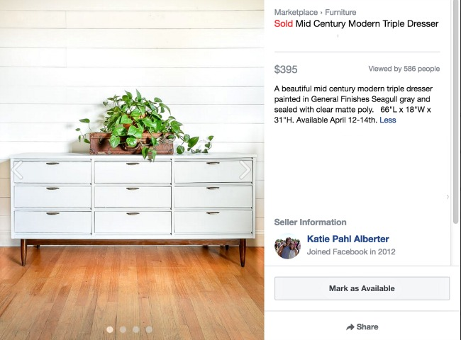 marketing booth inventory on facebook marketplace