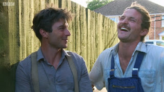 The Rich Brothers laugh at Charlies frog pond