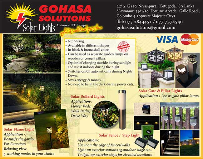 Solar Lights | All-In-One LED Lamps.