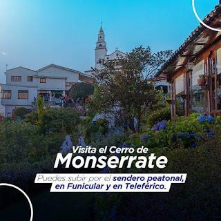 Subida al Cerro de Monserrate de Bogotá 2019