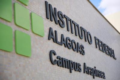 Ifal oferta 120 vagas em cursos técnicos subsequentes em Arapiraca e Penedo