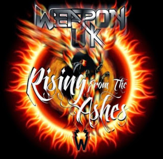 "Το τραγούδι των Weapon UK ""Burning Skies"" από το album ""Rising from the Ashes"""