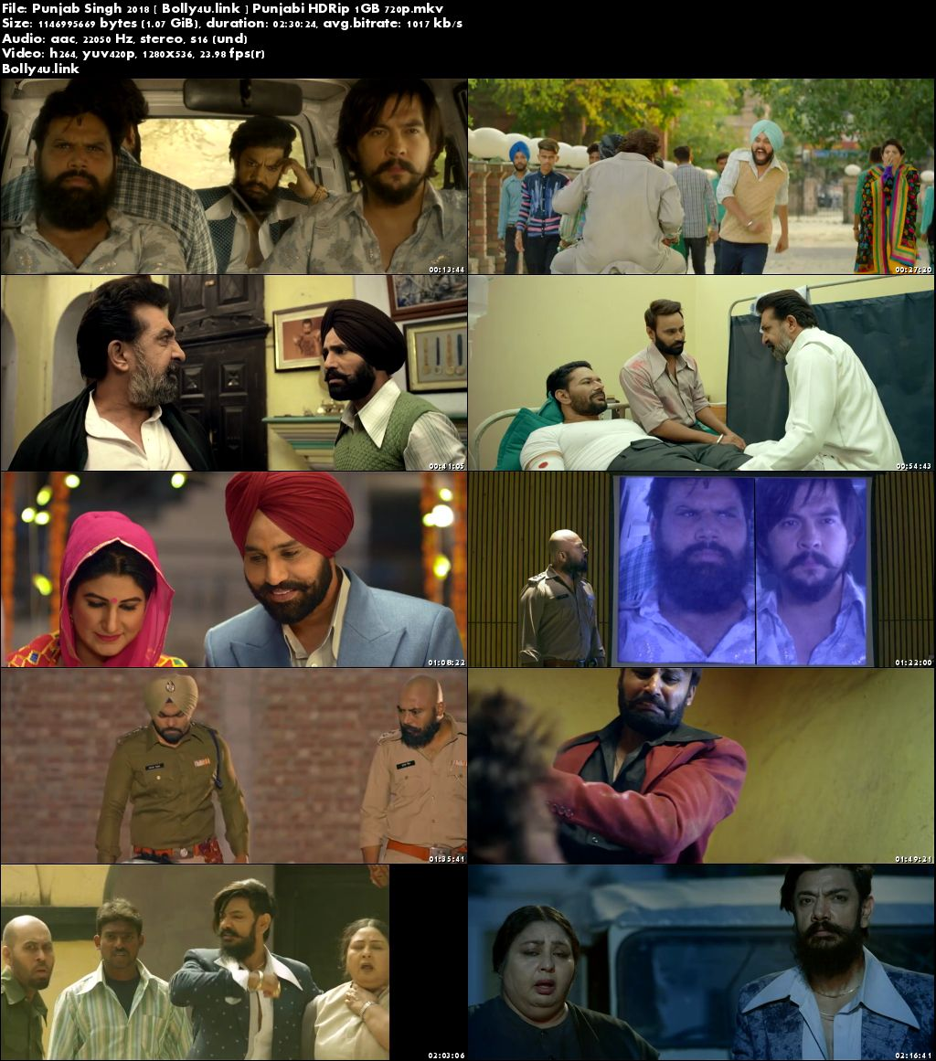 Punjab Singh 2018 HDRip 400Mb Full Punjabi Movie Download 480p