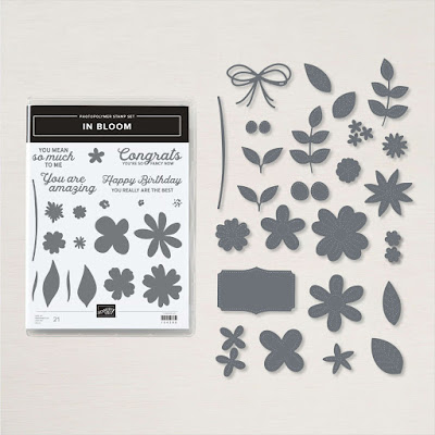 Images and dies in the Stampin' Up! In Bloom Bundle
