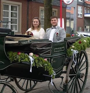 Hochzeitsfoto Hochzeitskutsche Bad Laer
