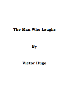 The Man Who Laughs By Victor Hugo In Pdf
