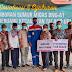 Pertamina adera pendopo bagikan berbagai bantuan ke masyarakat dalam sosialisasi dan syukuran pengeboran sumur migas BNG-A1 desa Benuang