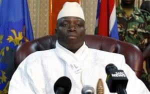 presiden yahya jammeh mengubah negara gambia menjadi negara republik islam