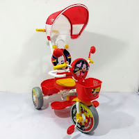Sepeda Roda Tiga Anak Mickey Mouse Baby Tricycle