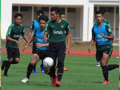 Jelang Uji Coba Lawan Bhayangkara FC, Timnas U-22 Matangkan Pola Permainan