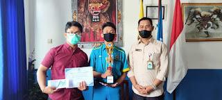 Beasiswa Prestasi SMK TI Bali Global Badung, ELCCO 2021, SMANGI Fest 2021, Universitas Udayana
