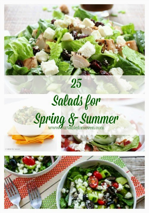 25 Salads for Spring and Summer