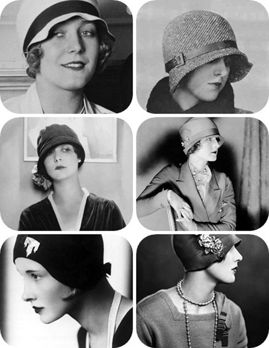 d5e8f917ef38f Madame Vintage  O Chapéu Cloche