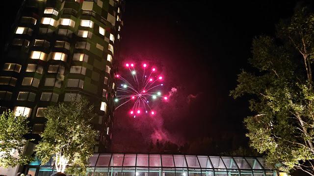 北海道 星野リゾート トマム・ザ・タワー 花火