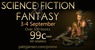Get 99 cent eBooks on sale Sept. 3-4, 2016