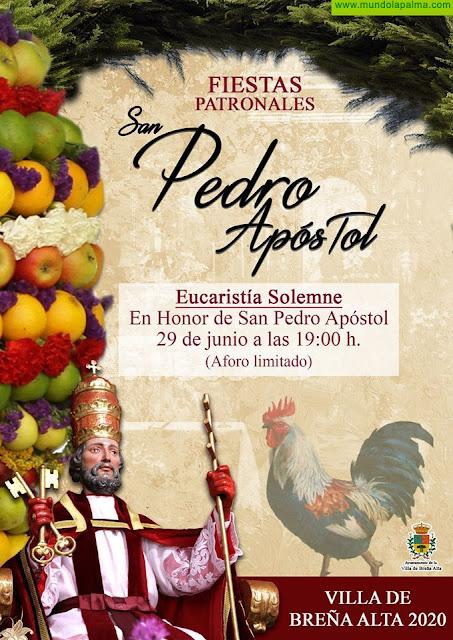 Fiestas Patronales San Pedro Apóstol 2020 en Breña Alta