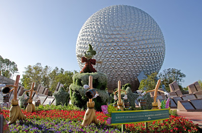 Disney Epcot in Florida