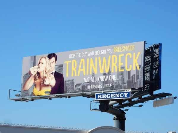Trainwreck billboard