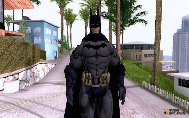 تحميل و شرح تركيب مود باتمان في لعبة جاتا سان