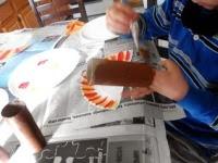 Cara Membuat Kerajinan Tangan Sederhana, Membuat Mainan Ayam Kalkun 4