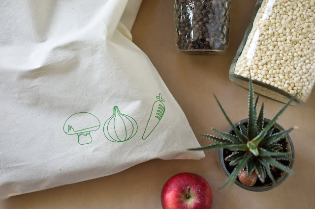 Reusable Produce Bag Iron-On Design and How To Use The Cricut EasyPress Mini